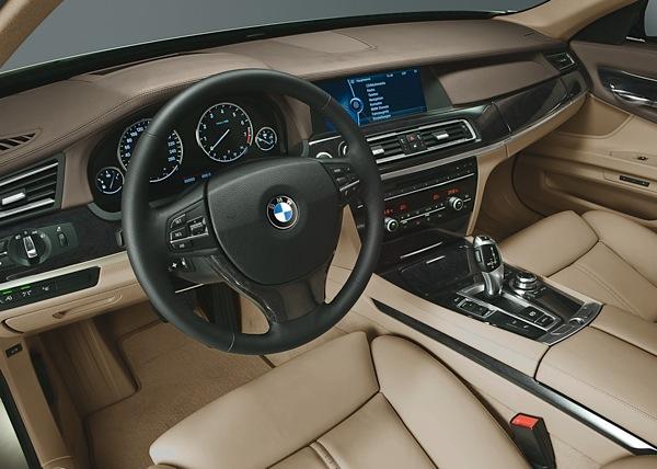 BMW 7. sērija smilšu pulkstenī