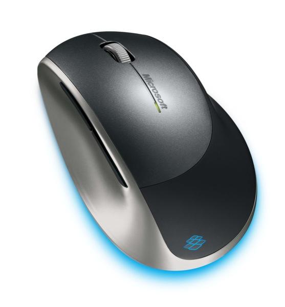 Microsoft zilā pele