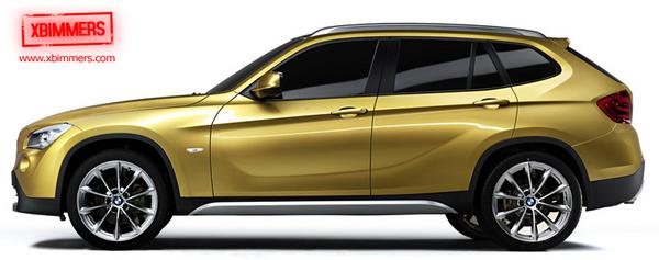 BMW X1 pirmās bildes [+video!]