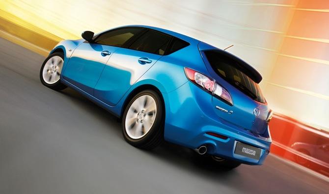 2010 Mazda3 hečbeks pavisam oficiāli