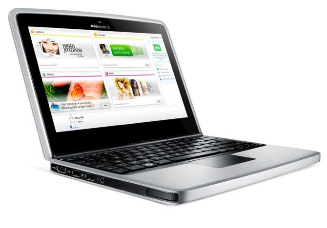 Nokia izmisuma solis - dators Booklet 3G
