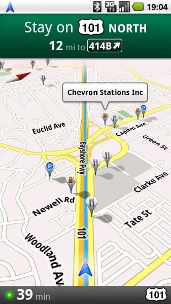 Apstiprina Google navigāciju priekš Android