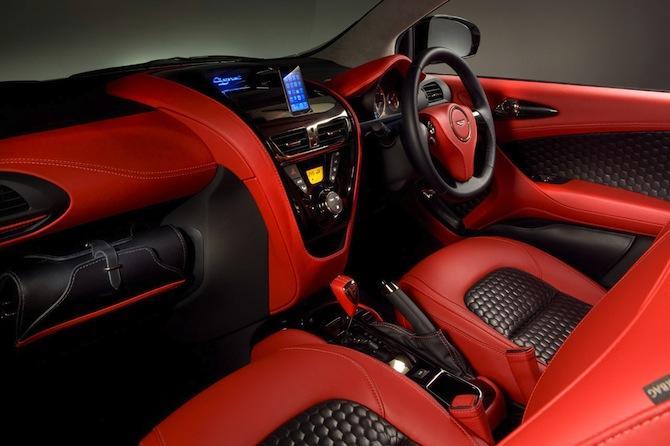 Aston Martin Cygnet parāda īsto seju