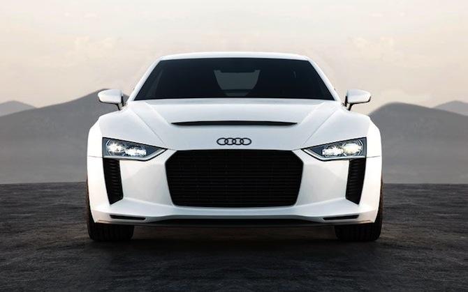 Audi Quattro 30 gadu jubilejas koncepts
