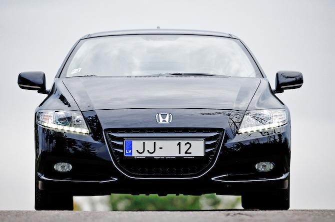 Tests: Honda CR-Z