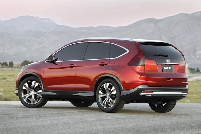 Honda atrāda 2012. gada CR-V prototipu