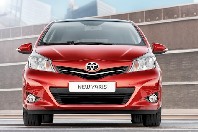 Tests: Toyota Yaris 2011
