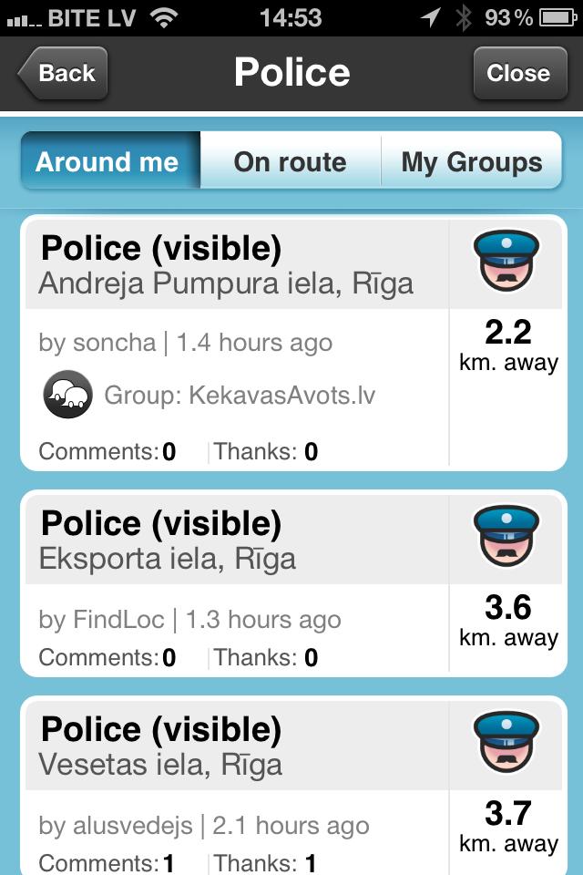 Waze - bezmaksas navigācija un satiksmes informācija telefonā