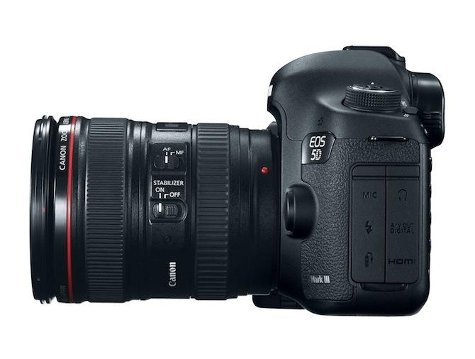 Canon paziņo par EOS 5D Mark III nonākšanu pārdošanā [keramiķi paredz cūciņkrājkasīšu pieprasījuma pieaugumu]