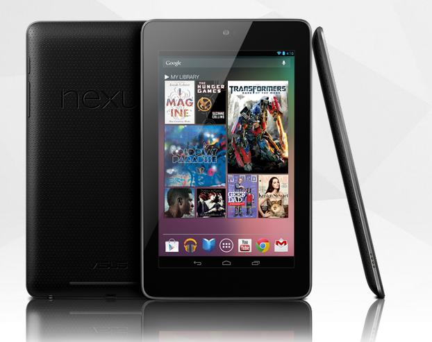 Google Nexus 7 - jaunais lētais planšetdators