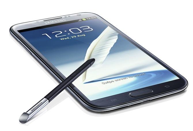 Samsung Galaxy Note 2 - vēl lielāks, vēl mazāks