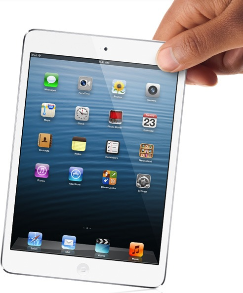 iPad mini un citi Apple jaunumi