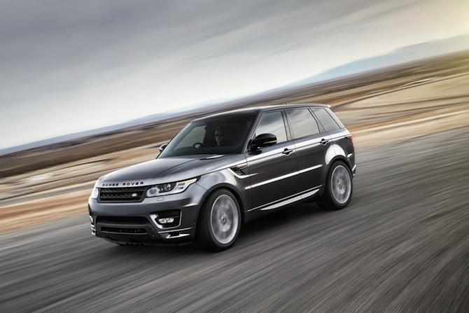 Klāt arī jaunais Range Rover Sport