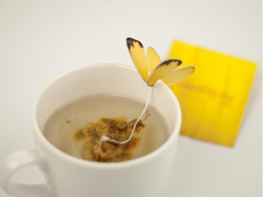 Tējas maisiņš ar taureni