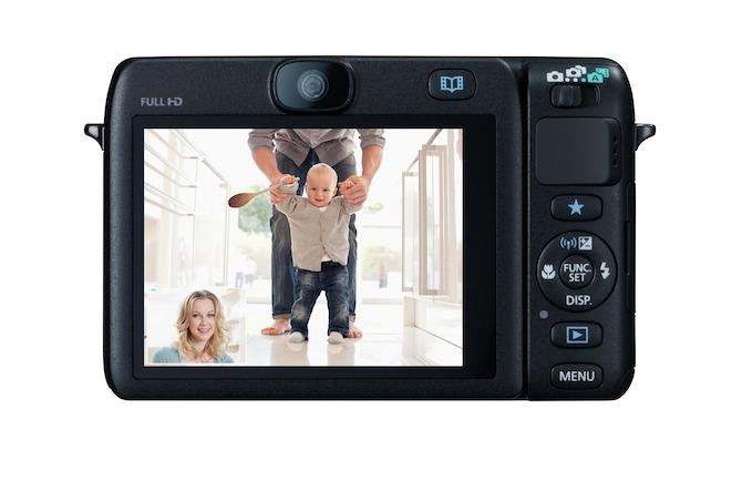 Kamera tiem, kas nespēj palikt aiz kadra - Canon PowerShot N100