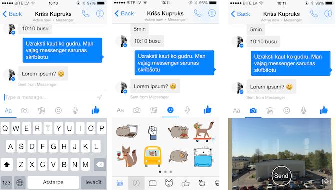 Facebook atjauno un būtiski uzlabo Messenger