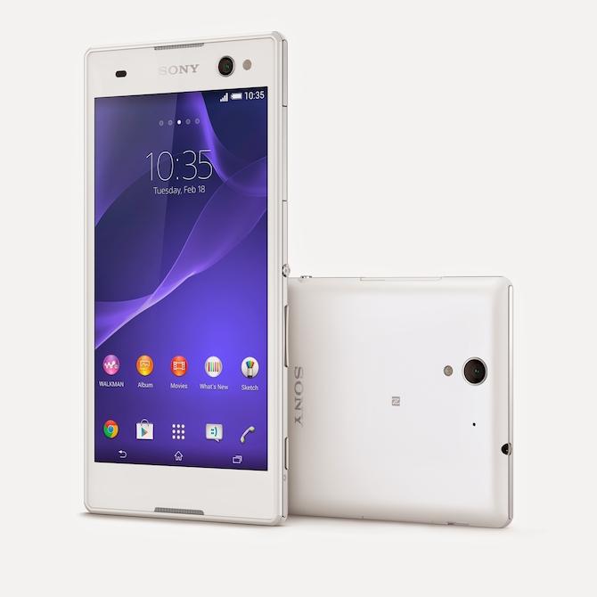 Sony Xperia C3 - sevīštelefons