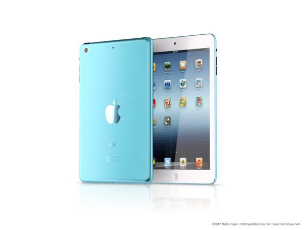 Kā varētu izskatīties iPad mini