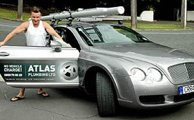 Bentley - dienesta auto