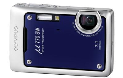 Olympus Mju 770SW, zem�dens kamera