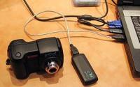Bezvadu USB tav� fotokamer�