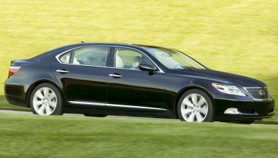 LS 600h, visd�rg�kais Lexus