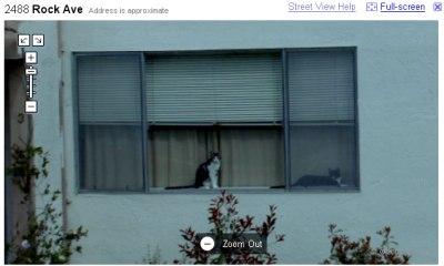 Google StreetView: lab�kie skati