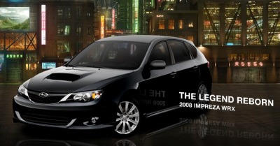 Subaru WRX: Le�endas atdzim�ana
