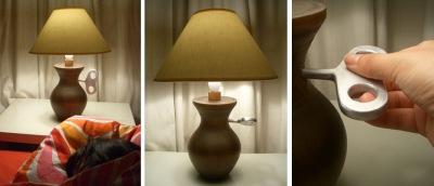 Uzvelkam� lampa