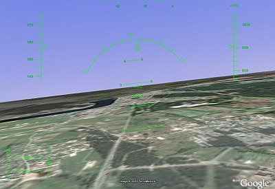 Lidojam ar Google Earth