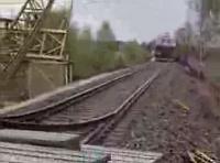 Huligāni pret vilcienu