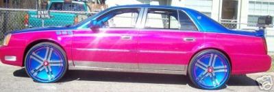 Cadillac DTS+LSD