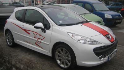 Peugeot 207 RC jau Rīgā