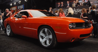 Pārdots pirmais Dodge Challenger