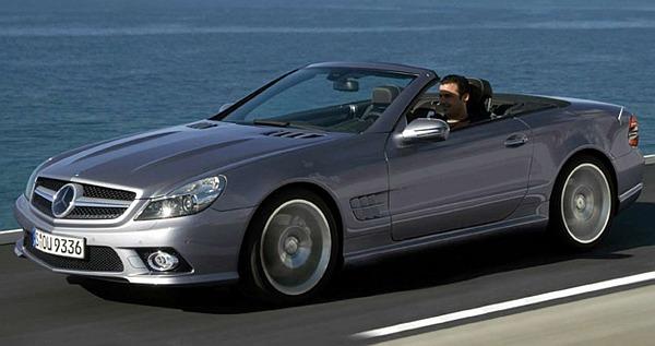 Mercedes Benz SL 2009
