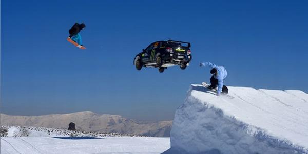 Ar auto uz kalna