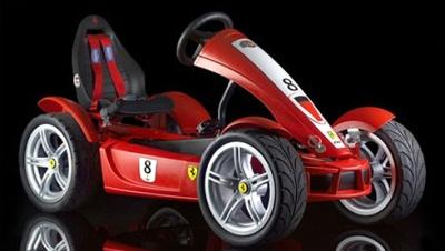 Ferrari FXX ar vienu bērnspēku