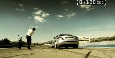 McLaren SLR pret golfa bumbiņu