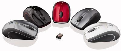 Logitech V450 Nano - jauna pele klēpjdatoriem