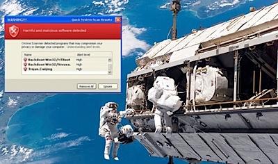 Vīruss kosmosā