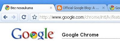 Google Chrome - Hromēts nieks interneta lietotājiem