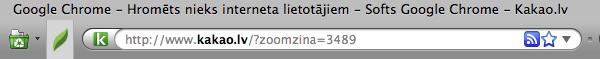 Chrome iespējas Firefoxī