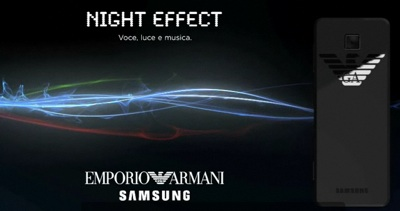 Armani Samsung Night Effect