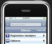 1188 priekš iPhone