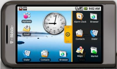 G1 Androida emulators