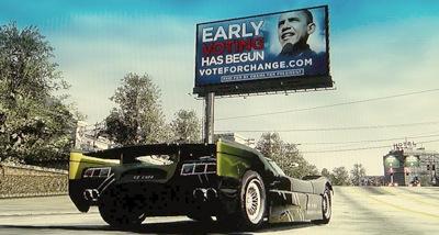 Obama reklamējas videospēlēs