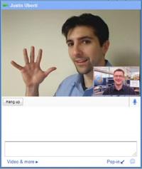 Gmail video čats