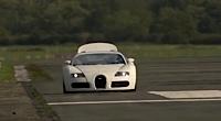 Bugatti Veyron Top Gear trasē