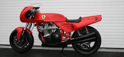 Vienīgais īstais Ferrari motocikls