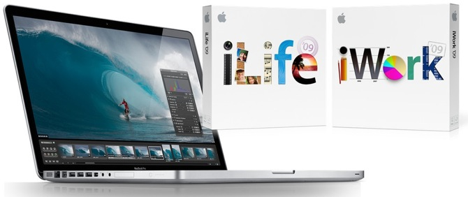 Apple jaunumi: 17 collu MacBook Pro, iLife09, iWork09